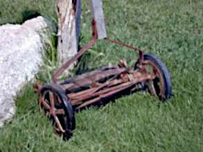 old rotary pushmower