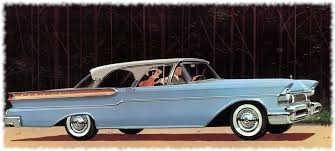 1956 Mercury Phaeton hard-top convertible