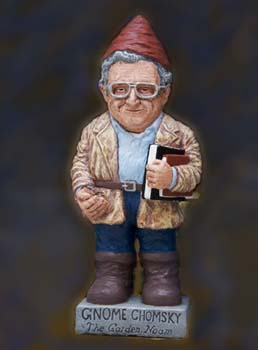 gnome in the likeness of noam chomsky